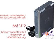 MINI-PC THIN CLIENT IGEL 5/4 4210LX DVI+VGA PCI BETRIEB ÜB. 12V PKW MÖGLICH TC17