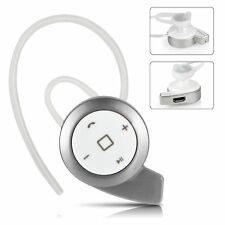 Wireless Bluetooth Stereo Earphone Headset Headphone For iPhone Android Silver