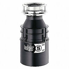 IN-SINK-ERATOR Garbage Disposal,Badger 5,1/2 HP, BADGER 5 WITH CORD