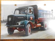 Postkarte Henschel Typ HS 22 HAK  LKW Truck Laster