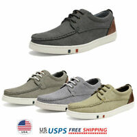 Men's Boat Shoes Lace up Casual Shoes Dress Shoes Fashion Sneakers