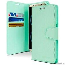 Galaxy Note 9 Genuine MERCURY Goospery Sonata Mint Green Flip Case Wallet Cover
