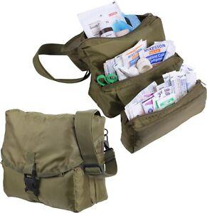 Olive Drab EMS EMT Army Medic Public Safety Medical Kit Bag