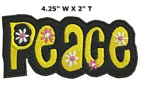 Woodstock Patch Iron on Peace Love Music Fest Dove Hippie Boho Retro Psychedelic