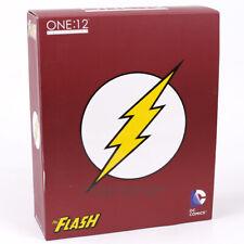 MEZCO DC COMICS The Flash 1/12 Scale PVC Action Figure Collectible Model Toy 16c