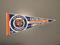 MLB Detroit Tigers Vintage 1987 AL Eastern Division Champions Baseball Pennant