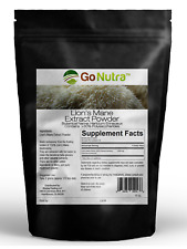 Lion's Mane Mushroom Powder | Pure Extract 8oz | Go Nutra