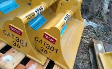 """HEAVY DUTY Cat 301 36""""  EXCAVATOR Grading Ditching cleaning BUCKET  30mm pins"""