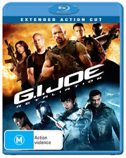 G.I. Joe: Retaliation (2013) (Extended Action Cut) * Blu-ray * NEW