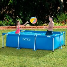 Piscina Desmontable Rectangular Intex-Piscinas Desmontables Terraza Jardin