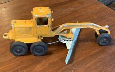 Antique Slik-Toy Road Grader Cast Construction