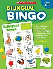 Bilingual Bingo: Easy-to-Make Reproducible Games- in English and Spanish-That Re
