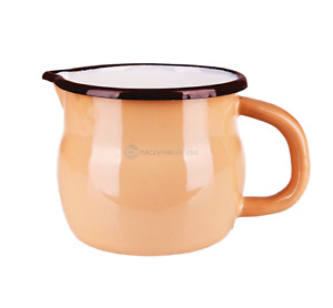 Messbecher, Trinkbecher Tasse Kaffeebecher Emaille