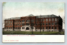 Wd2 Postcard Early 1900's Chemical Lab University of Illinois Urbana Kropp 443a