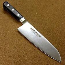 Japanese SETO ISEYA-PRO Kitchen Santoku Knife 6.7 inch Bolster Handle SEKI JAPAN
