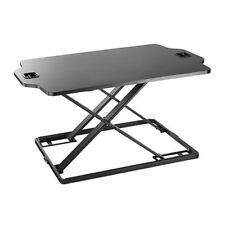 DWS08-02 Economy Height Adjustable Standing Desk,Sturdy & Simple Design,Black