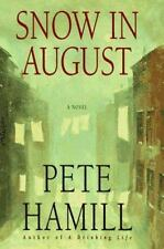 Snow in August-Pete Hamill 1st Edit.1st Print., Like New PERFECT COND.