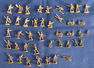 42 petits soldats 1/72 Motos, allemand avec chien - 42 Small soldiers WWII