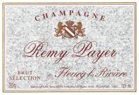 Étiquette de Champagne Remy Payer