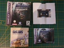 GAME BOY GAMEBOY ADVANCE GBA BOXED BOITE KING KONG THE OFFICIAL GAME THE MOVIE A