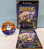 Starfox Adventures (Nintendo GameCube, 2002) with Manual - Tested & Working