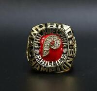 Philadelphia Phillies 1980 World Series Championship Ring Size 11 Holiday Gift