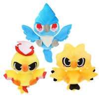 Pokemon Articuno Moltres Zapdos Figure Plush Doll Stuffed Animal Toy 12inch Gift