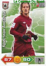 CRISTIAN ANSALDI ARGENTINA # FK.RUBIN KAZAN GENOA.CFC CARD ADRENALYN PANINI 2012