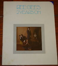 THE BEE GEES ~ 2 YEARS ON ~EXTREMELY RARE ORIGINAL UK SONG MUSIC LYRIC BOOK 1971
