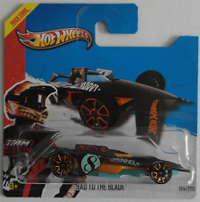 Hot wheels-Bad to the Blade noir/turquoise Nouveau/OVP