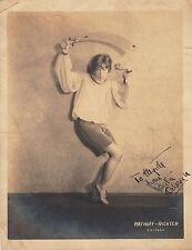 VAUDEVILLE DANCER ~ BETTIE ? ~ POSING WITH ARABIAN SWORD ~ C - 1928