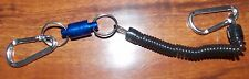 Magnetic Net Release with lanyard Fly Fishing Net- Fishing Tool Brand New