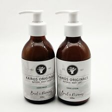 Basil & Rosemary essential oil Hand Lotion kit - Vegan /Cruelty Free / Handmade