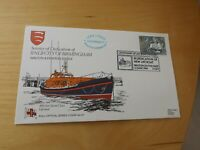 RNLI first day stamp cover 107 dedication of RNLB city of birmingham