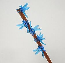 Dragonfly Clips for Orchids or plant spikes Pack of 5 Blue