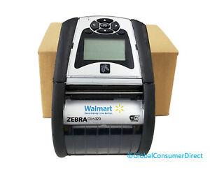 "Zebra QLN 320 QLN320 QN3-AUN10E01-W1 Mobile Thermal 3"" Printer Bluetooth WiFi"