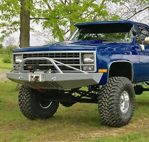 Chevy K5 Blazer 1981-1991 Front Winch Bumper *BRUSH GUARD NOT INCLUDED* USA