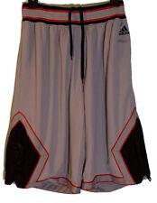 New listing Derrick Rose Adidas Basketball Shorts Bulls Red Black Colors Sz Medium Stretch