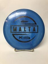 Discraft ESP McBeth Malta Swirl Blue First Run 171g Woodgrain Stamp Ships⚡️Fast