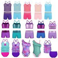 Toddler Kids Baby Girls Bikini Swimwear Swimsuit Bathing Suit Beachwear Summer