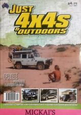 JUST 4X4 FEBRUARY 2008 ISSUE 216 - JEEP CHEROKEE FUTURE OF HUMMER FORD MAVERICK
