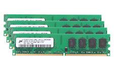 Mircon 16 GB DDR2 RAM 4x 4 GB 800Mhz PC2-6400U 240pin DIMM Only For AMD Memory