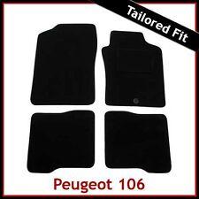 PEUGEOT 106 1996 - 1999 2000 2001 2002 2003 2004 su misura moquette tappetini Grigio
