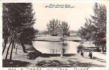 1930's? RPPC Golf Course 8th Hole John the Baptist Miami Country Club Miami FL