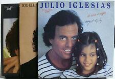 VINYL RECORD LP 3 JULIO IGLESIAS DE NINA A MUJER 1100 BEL AIR PLACE MOMENTOS