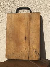 Ancienne Planche à Découper cuisine boucher vieux métier art populaire SEP28a