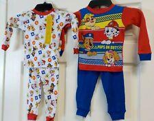 New Nickelodeon Paw Patrol 4 Piece long sleeve Pajama Sets Sleep Wear Size 2T