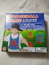 Dodgeball Game 2 Player -Set Includes 2 Vests & 6 Soft Balls Outdoor Fun