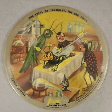Vogue Picture Record R-746 - Trial of Bumble The Bee / The Boy Who Cried Wolf