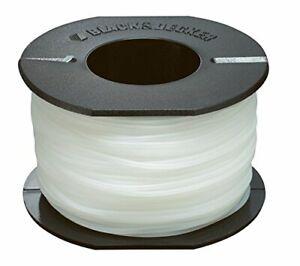 Bobine 50 mètres de fil coupe-bordures Transparent, 1,5 mm
